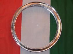1967-70 Triumph Front Flanged Alloy Rim Made In Italy Wm2 1.85 X 19 40 Holetr2