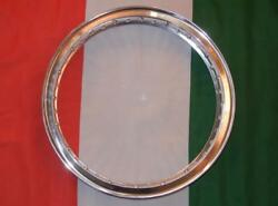 Ducati 750 Front Disc Flanged Alloy Rim Made In Italy Wm2 1.85 X 19 40 Holedu5