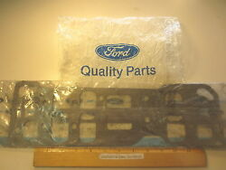 2 Pcs Ford 1984/86 Mustang Gasket Intake Manifold To Cylinder Head 6 Cyl 3.8l