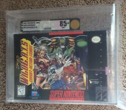 Jim Lee's Wild C.A.T.S Covert Action Teams VGA 85+ RARE SNES GEM V-SEAM SEALED