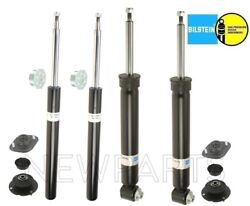For Bmw E30 3-series Rear Shocks And Front Struts Mounts Cover Cap Suspen. Kit Oem