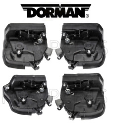 For BMW E53 X5 2000-2006 Front & Rear Integrated Door Locks Actuator KIT Dorman