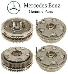 For Mercedes R230 Pair Set Of 2 Intake And Exhaust Camshaft Timing Adjusters Kit