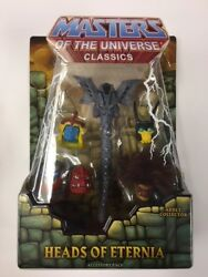 Masters Of The Universe Classics Heads Of Eternia Accessory Pack Mattel