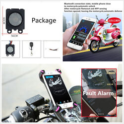 48-72V Motorcycles Engine One-Button Start Anti-theft Alarm Security System GPS