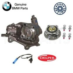 For BMW E39 Front Passe. Right Steering Knuckle & Wheel Hub & Bearing ABS Sensor