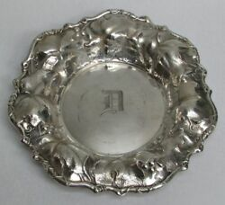 Art Nouveau 1906 Whiting M.f.g. Co. Sterling Silver 8 3/4 Bowl