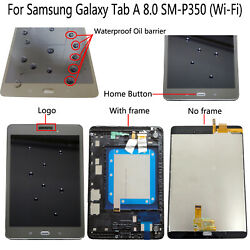 For Samsung Galaxy Tab A 8.0 Sm-p350 Wi-fi Lcd Display Touch Screen Digitizer