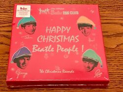 The Official Beatles Fan Club The Christmas Records Limited Edition 7 Inch Box