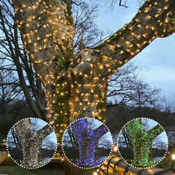 Connectpro Connectable Led Fairy String Lights   Outdoor Garden Christmas Event
