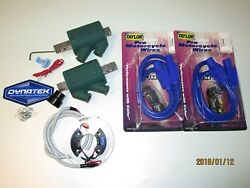 For Suz Gs1000s Wes Cooley Dyna S Ignition Dyna Coils Taylor Leads Complete Kit