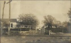Road Signs - Collins Center Ny View C1910 Real Photo Postcard
