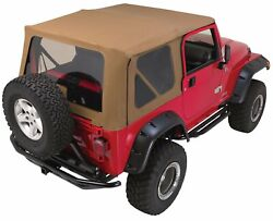Rampage Products Tops - Rampage Products Soft Top And Frame Kit - For Jeep 1997-