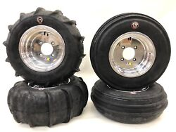 Dwt 14 Polish Ultimate Sport Front Rear Rims Gmz Sand Stripper Paddle Tires Rzr