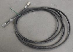 Parker Air Brake Hose, 201-4 3/16, Wp 3000 Psi, Approx 10ft Length, W/ Fittings