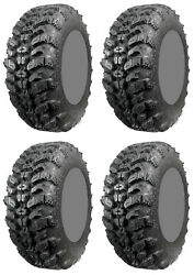 Four 4 Interco Sniper 920 Atv Tires Set 2 Front 27x9-14 And 2 Rear 27x11-14