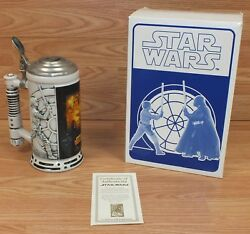 Star Wars A New Hope Limited Number Collectors Ceramic Stein By Avon With Coa