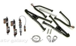 Roll Design Arms Fox Float 3 Evol RC2 Front Podium Rear Shocks Suspension YFZ450