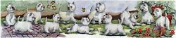 Enid Groves West Highland Terrier Westie Print