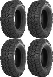 Four 4 Itp Ultracross R-spec Atv Tires Set 2 Front 29x9-14 And 2 Rear 29x11-14