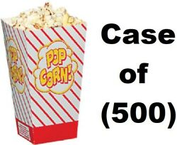 500 Ct Gold Medal Products 2066 .8 Oz Bright Red Orange Popcorn Scoop / Boxes