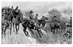 Fox Hunting First Run Of The Season Horses Saddle Fox Hounds Hunt By Max Klepper
