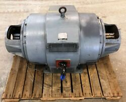 Westinghouse, Ac Motor, Life-line T, Model Tadp, Serial 7212, 3 Phase, 100 Hp