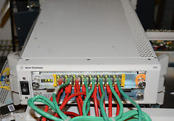 Agilent N2x N5540a Chassis Two E7906a 10/100 16-port Modules