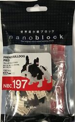 French Bulldog Nanoblock Miniature Building Blocks New NBC197