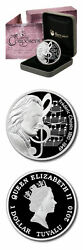 Tuvalu Frederic Chopin 1 2010 Proof Silver Crown Mint Box Andamp Coa