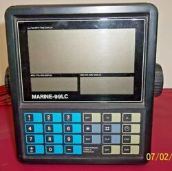 Vintage Marine - 99lc Loran C Boat Navigation System-for Parts Or Project