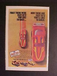 Old Race Cars Truck Mpc Plastic Model Car Kits Toy Print Ad Vintage Orig 1981