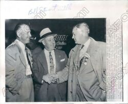1955 Manager Of Multiple Baseball Teams Hollie Hemsley To Charlotte Press Photo