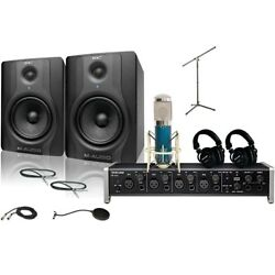 US-4x4 MXL 4000 and M Audio BX5 Recording Package 2