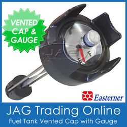 Boat Fuel Tank Cap With Gauge And Breather Vent For 12l 22l 24l 25l Outbaord Tank
