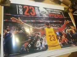 Ud Lebron James Cleveland Cavaliers Poster Free Us Shipping