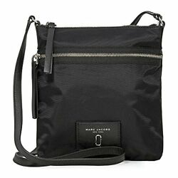Marc Jacobs Women's Nylon Biker Cross Body Bag Black One Size
