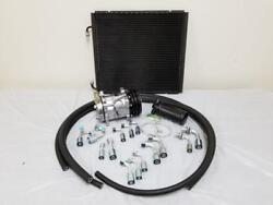 Universal 134a Air Conditioning AC Hose Drier Kit + Plain Compressor