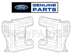 For Ford F-250 Super Duty F-350 Super Duty 2017 Pair Set of 2 Headlights Genuine
