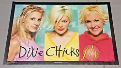 Vintage 1999 Dixie Chicks Fly Poster 22 X 34 Inches Unused