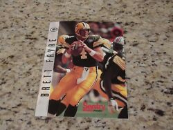 Green Bay Packers Nfc Champions Brett Favre 8.5 X 11 Poster/card By Sentry Food