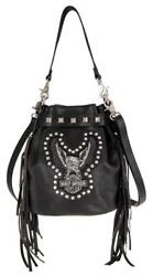 Harley-Davidson® Women's Highway Child Crossbody Bag - HDWBA11162-BLK