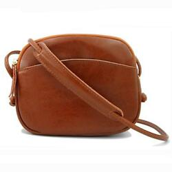 ATUPEIY Genuine Leather Small Crossbody Bag for Women Girl Lightweight Cute