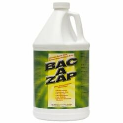 Bac A Zap Grease Build-up Remover For Drains And Garbage Containers 1gal