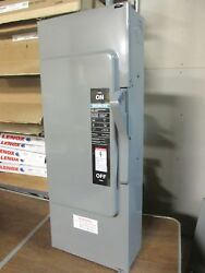 Ite / Siemens Fusible Vacu-break Safety Switch 200a, 600v Cat F354 .. Ds-554a