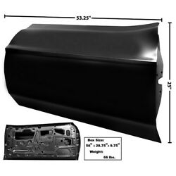Custom Door Shell Panel Assembly No Handle And Lock Holes Left 1971 72 73 Mustang