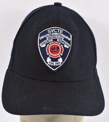 Navy Blue SVCTE Emergency Services Patch Embroidered baseball hat cap adjustable