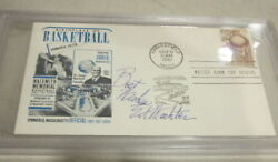1961 First Day Cover Ed Wachter Hall of Fame signed PSA