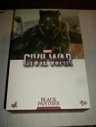 Hot Toys Captain America Civil War BLACK PANTHER 16 Scale Figure MMS363 NEW