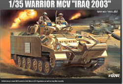 Academy 1/35 13201 British Warrior Mcv Infantry Fighting Vehicle Iraq 2003